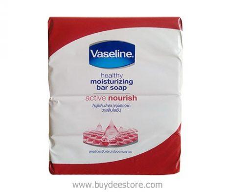 Vaseline Healthy Moisturizing Bar Soap Active Nourish 75g x 4 psc