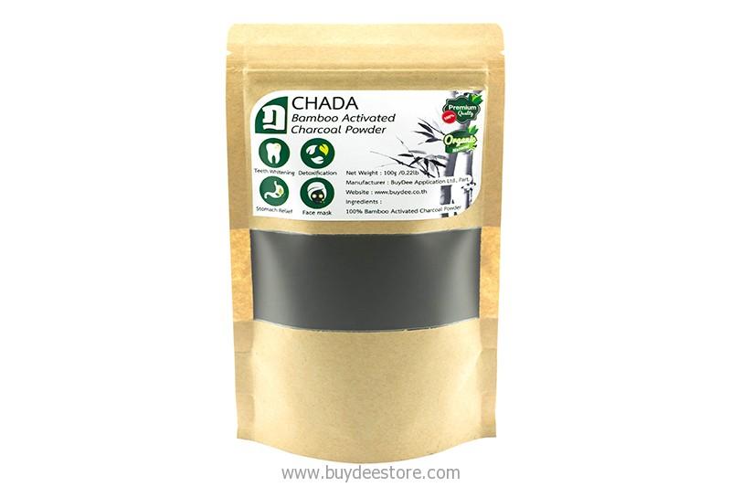 Chada Bamboo Activated Charcoal Powder 100g Buydee Store