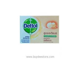 Dettol Radiance Anti-bacterial Bar Soap 65g x 4 Pc