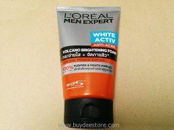 L'oreal Men Expert White Activ Anti-Acne Volcano Brightening Foam 100mL