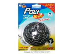 Poly Brite Ultra Stainless Steel Scourer For Heavy Duty 1 Piece