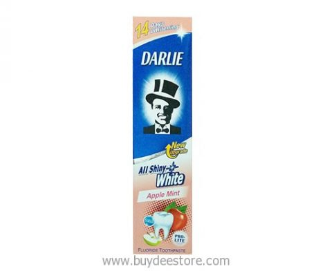 Darlie All Shiny White Apple Mint Fluoride Toothpaste 140g